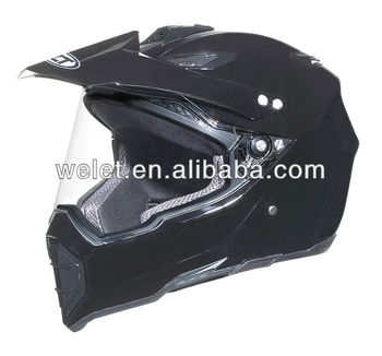 Dirt Bike Helmet wlt-128 New design Black