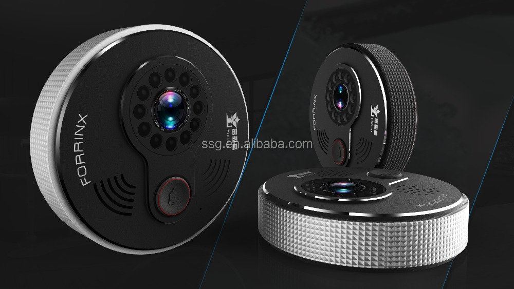2016 New Forrinx Smart Home Security Wireless Wifi Video Door Phone Camera Real Time Watching and Listening Ring wifi Door Bell
