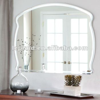 4*8 clear flexible mirror sheet /large wall mirror sheet