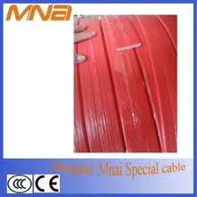 PVC insulated flat flexible cable