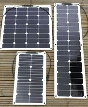300 watt flexible solar panels charging for 36v battery