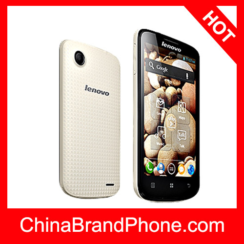 MT6577T Dual Core 1.2GHz,Lenovo A800 4GB 4.5 inch Capacitive 5-point Multi-touch Screen Android OS 4.0 Smart Phone