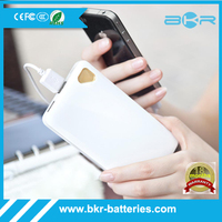 Rabber spray mobile power bank qualcomm qc2.0 quick charge charger