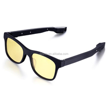 High quality acetate Bluetooth sunglasses with earphone sun glasses