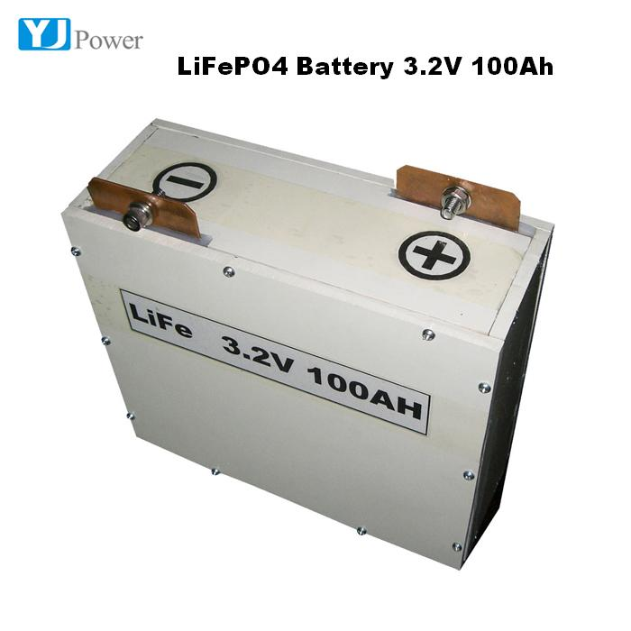 Professional Manufacturer Storage Lifepo4 Battery Solar Cell 3.2V 100Ah