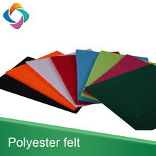 Manufacturer needle punched 100% polyester PET thick sheet nonwoven felt