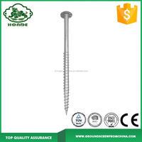 Earth Screw Ground Anchor Piles For Street Led Lights