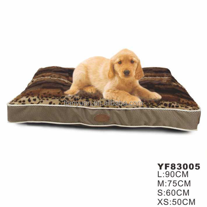 China supplier cheap plush animal shaped luxury pet dog beds