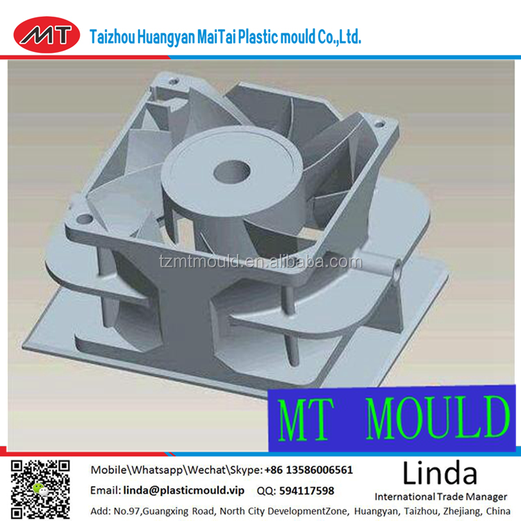 new product plastic electric fan parts mould CHINA TAIZHOU HUANGYA/best new product plastic injection tooling for ceiling fan