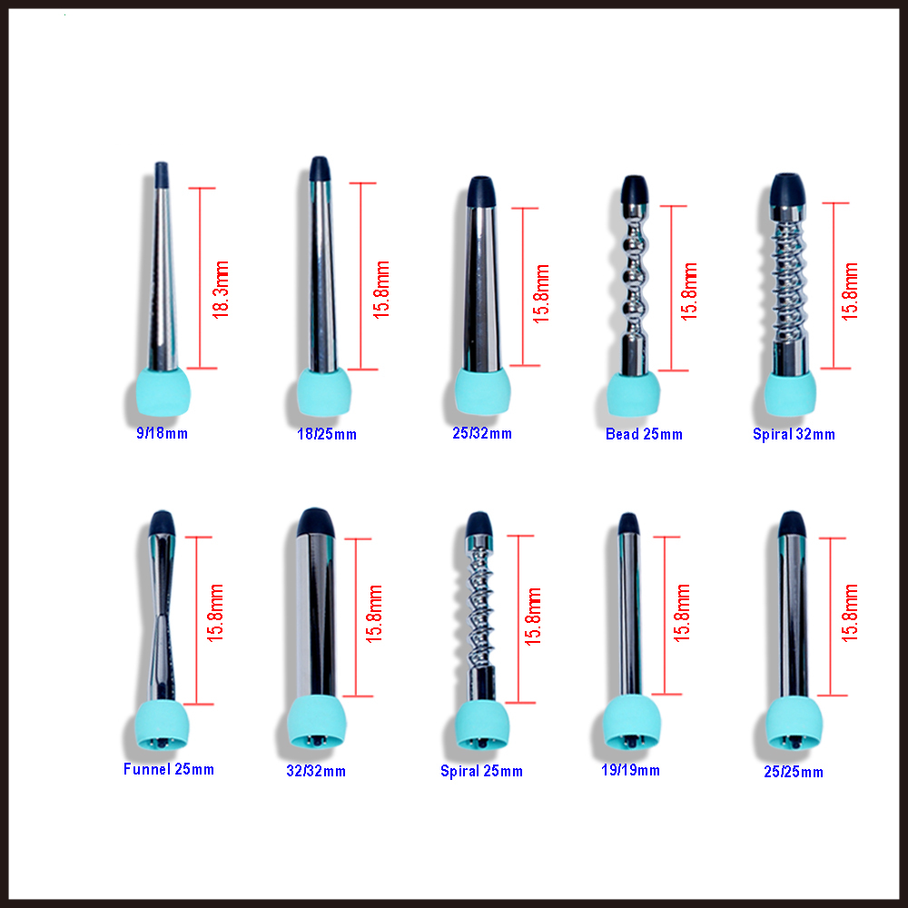 10 in 1 Professional fast heating salon tools Interchangeable ceramic automatic magic hair curler set bling curling wand