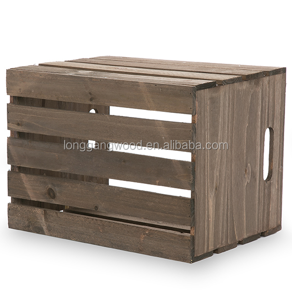 2015 wholesale unfinished cheap wooden crates packing for Buy wooden fruit crates