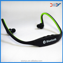 2016 fashion neckband stereo Sport Bluetooth headset with Mic wholesale in high quality