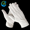 China factory white PVC dotted polyester esd work gloves wholesale
