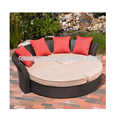 Modern design furniture comfortable rattan outdoor furniture wicker daybed