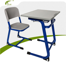 Cheap steel table chair/metal student desk chair set/school furniture price list