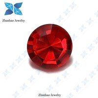 real charming round shaped big red price of 1 carat diamond