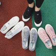 2017 leisure rubber sole shoes students canvas shoes