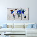 100% Handpainted Creative Modern Design Wall Art Decoratiion of Abstract House Painting