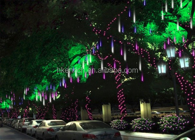 Multi Color LED Meteor Rainfall Light with SMD2835/SMD5050
