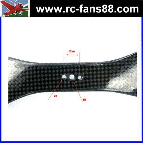 20*5.5 inch Wide Blade, 3-hole Direct Mounting 3K Carbon Propeller Set multi copter propeller T motor propeller