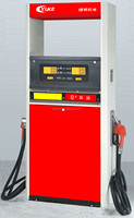 two guns used petrol station fuel dispenser
