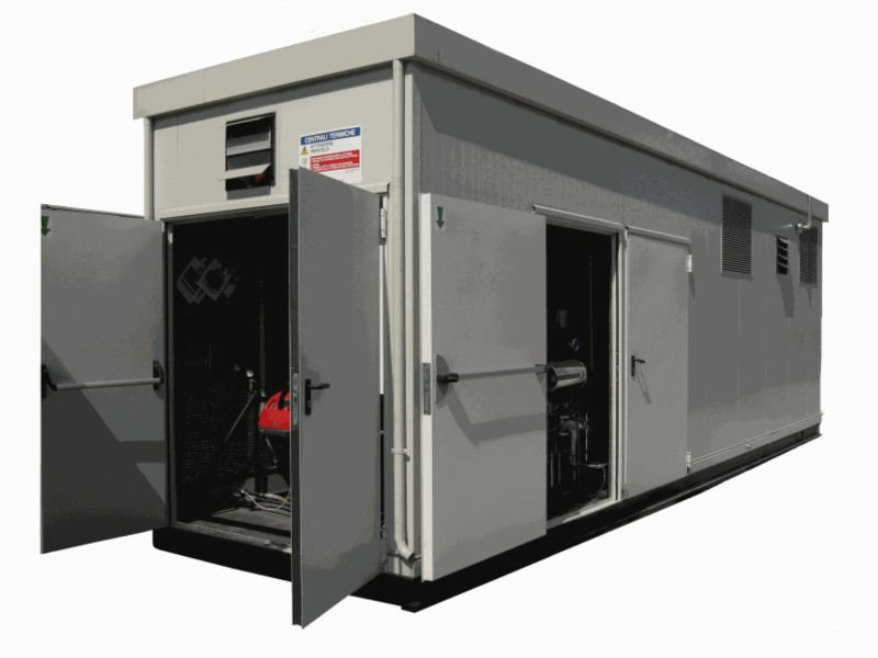 LCZ Prefabricated Thermal Plant (Marine Container) Boiler House