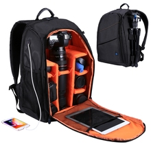 PULUZ Outdoor Portable Waterproof Notebook Backpack Scratch-proof Dual Shoulders Backpack Camera Bag