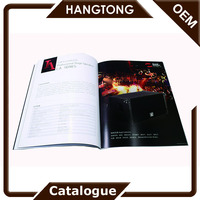 Cheap company brochure / catalog / laminated flyers printing