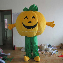 Pumpkin Mascot Costume Halloween Unisex Cartoon Costume Custom-made Costume