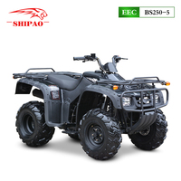 BS250-5 4 wheel quad bike bashan atv 250cc with EEC