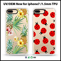 2017 for iphone 7 case soft TPU case for iphone 6s 6 phone case for samsung galaxy s7