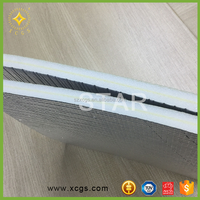 Reflective Aluminium foil XPE Foam heat resistant insulation for air conditioning insulation pipe insulation