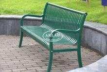Arlau Outdoor Benches Metal,Leisure Chair Outdoor Park Bench,Park Furnishing
