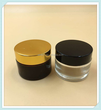 mini 10g ceramic cosmetic jars / glass jar with lid