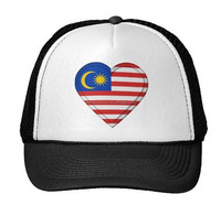 wholesale 2015 hot sal Malaysia flag snapback hat