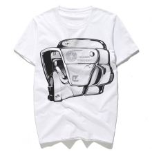 New arrival OEM design 3d abstracted printing men's t shirt