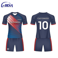 Corporate team custom-made full-body custom football training suits can be long sleeves