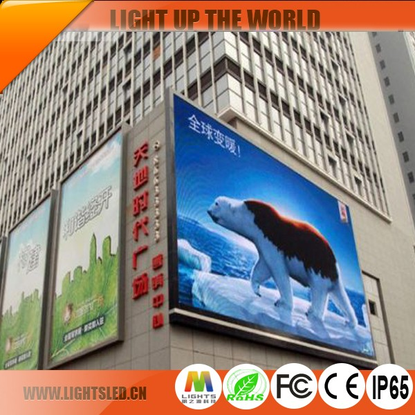 p16 outdoor full color video on hot sale for hd led display screen and tv led flat panel displays