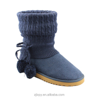 2015 7128 Winter knitted sock slipper boot