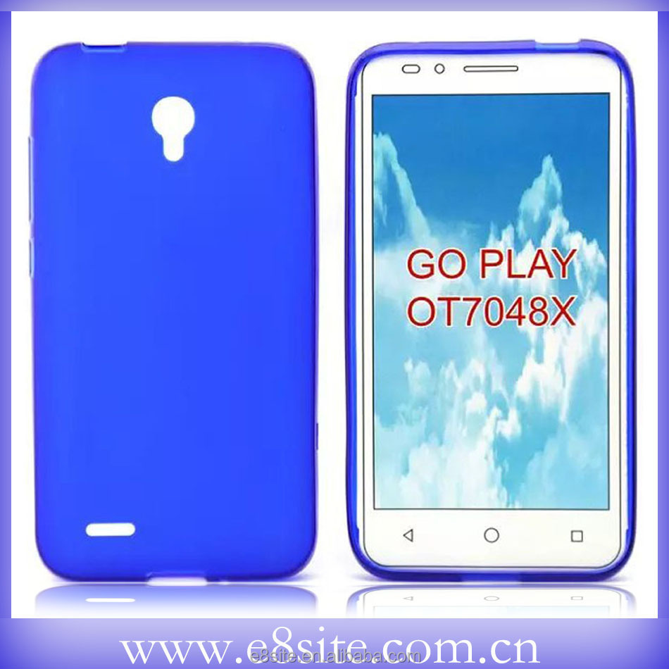 Smart Phone Mate Designer Cover Pudding TPU Case For Alcatel Go Play OT7048X