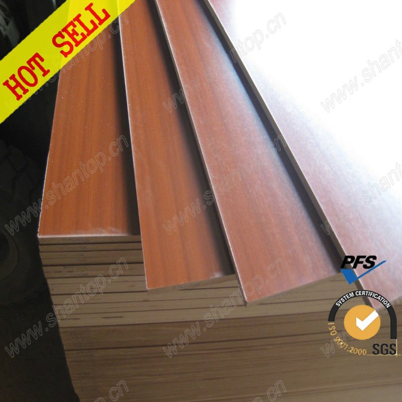 18mm melamine mdf boad/sheet