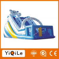 Lovely panda jumping castles inflatable outdoor playground jump inflatable
