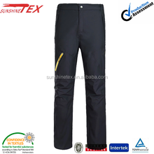 Outdoor waterproof softshell thick ski sport pants for men