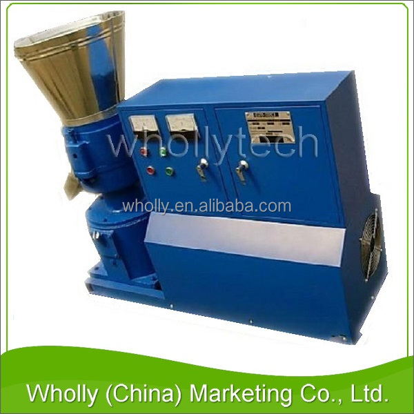 Latest new model top quality mini poultry feed pellet machine