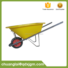 Professional Manufacturer Farm Tools and Equipment PVC Tray Plastic Wheelbarrow