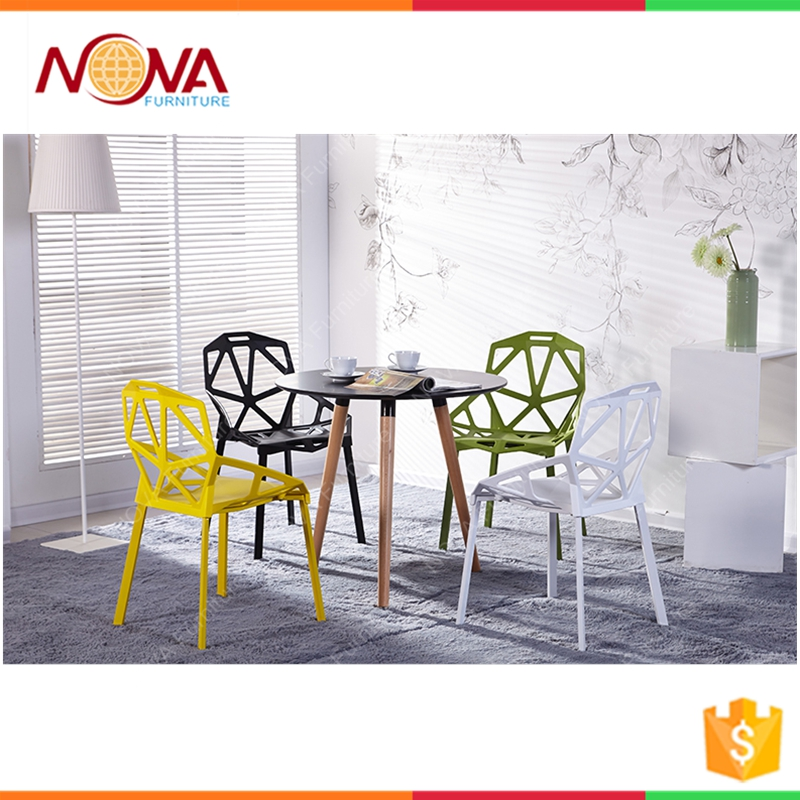 Modern plastic chair resin stacking chairs manufactures