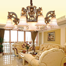 European contracted style reaationary LED pendant lamp,resin Villa hotel lamp