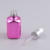Wholesale empty pink colored square glass dropper bottle with 12ml