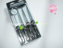 kitchen utestils 4pcs steak knife/ useful Salad Fruit and Vegetable Knife