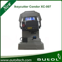 2016 new arrival IKEYCUTTER CONDOR XC-007 Master Series Key Cutting Machine with best price key code cutting machine